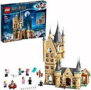 CYE 75969 Harry Potter Astronomieturm auf Schloss Hogwarts, Spielzeug kompatibel mit der Groen Halle von Hogwarts und der Peitschenden Weide