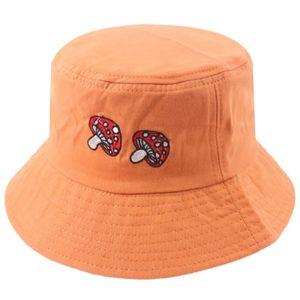 Orange 58cm Sonnenhut Bucket Hat Fischerhut Mütze Pfeil Beckenhut