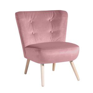 Max Winzer Neele Sessel - Farbe: rosé - Maße: 69 cm x 68 cm x 80 cm; 2693-1100-2044206-F01
