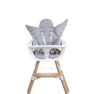 CHILDWOOD Sitzkissen Engel Baumwolle Grau CCASCGR