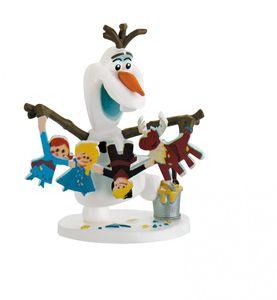 Disney Frozen / Die Eiskönigin - Spielfigur, Olaf mit Girlande
