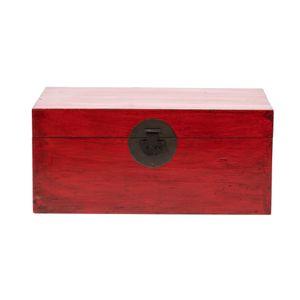 Fine Asianliving Chinesische Aufbewahrungskiste Orientalische Möbel Truhe Holztruhe Dekotisch Truhenbank Massiv Holz Groß Deckel Couchtisch Tischtruhe Sitztruhe Truhe Antik 88 x 40 x 57cm