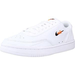 Nike Wmns Nike Court Vintage Prm - white/black-total orange, Größe:8