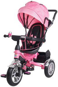 Miweba Kinderdreirad KSF10 Schieber faltbar (Pink)