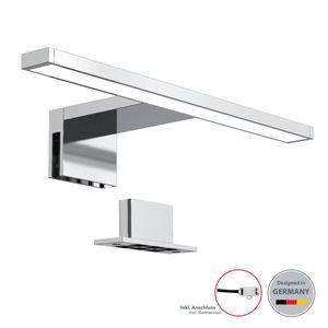 LED Spiegelleuchte Badezimmer-Leuchte Schminklicht inkl. 5W 500 Lumen LED-Platine Klemmleuchte neutral-weiß 230 V IP44 B.K.Licht