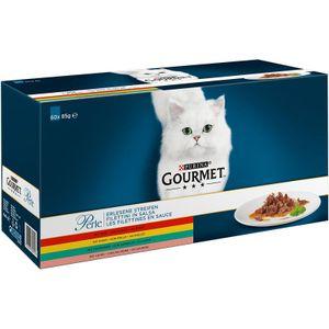 Gourmet Perle Multipack Katzenfutter 60x85 g
