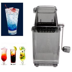 Eiscrusher ,Assheuer und Pott Eiszerkleinerer Ice Crusher Tritaghiaccio für rasierte Eismaschine zum schnellen