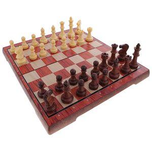 Magnetisches Schachspiel ( Einklappbares Schachbrett ) Pädagogisches Spiel für Kinder Erwachsene