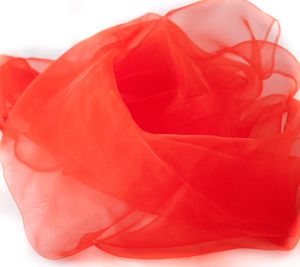 Jongliertücher 70 x 70 cm im 3er Pack - Set Jongliertuecher rot
