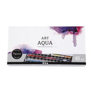 Art Aqua hohe Lichtechtheit Wasserfarben 48 Aquarellfarben