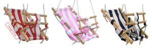 Babyschaukel Babyliegeschaukel Schaukelsitz Babysitz Babywippe Babyhängematte ,    Farbe:rot / weiss