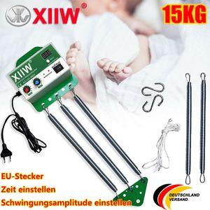 15KG Federwiege Babyschaukel Babywippe Elektrische Cradle Controller Schwingfeder mit Einstellbar Timer Für die Baby