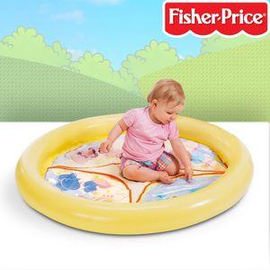 Fisher-Price Spielplatz aufgeblasen ca. 106x106x12 cm