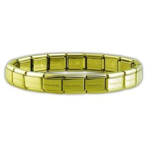 Armband - Edelstahl - Big - goldfarben