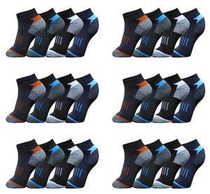 24 Paar Socken Sport - Sneaker - Socken Kurzsocken Gr. 43-46