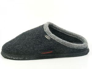 Giesswein 32-10-42084 Dannheim Damen Herren Hausschuhe Pantoffeln , Schuhgröße:45, Farbe:Grau