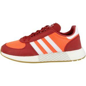 adidas Originals Marathon Tech Herren Sneaker Rot Schuhe, Größe:46