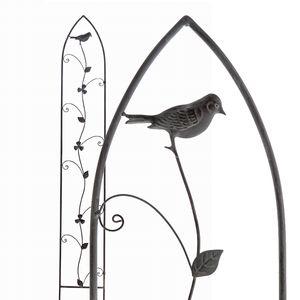 "Feliwa Rankgitter "" Vogel ""136 cm schmal Rankhilfe Kletterhilfe Pflanzenstütze"