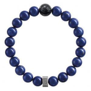 Thomas Sabo Armband Rebel at Heart Obsidian/imitierter Lapislazuli A1534-930-32-L17