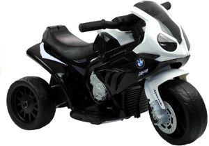 Elektro Kinder Motorrad BMW Bike in Schwarz Weiß Trike elektrisch 6V