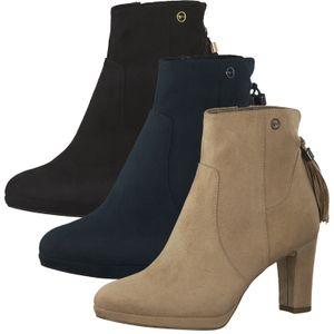 Tamaris Damen Stiefeletten kurzschaft Stiefel 1-25369-25, Größe:39 EU, Farbe:Rosa