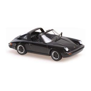 Maxichamps 940061260 Porsche 911 Targa schwarz 1977 Maßstab 1:43 Modellauto