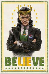 Marvel - Loki - Poster - Größe 61x91,5 cm