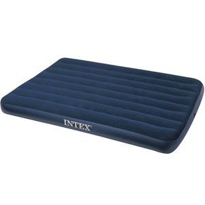 INTEX 68758 Luftbett Doppel Classic Downy Blue Full 191 x 137 x 22cm