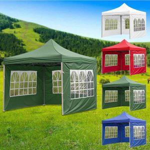 2*3m Pavillon Festzelt Partyzelt Gartenpavillon Wasserdicht Garten Zelttuch Grün Zelttuch (ohne Baldachin & Rahmen)