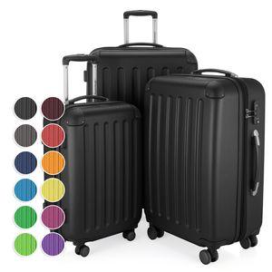 HAUPTSTADTKOFFER - Spree - 3er Koffer-Set Hartschalenkoffer Reisekoffer-Set, TSA, 4 Rollen, S M & L,