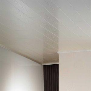 Avanti Hochglanzweiß Paneele 2200x168x10mm 6 Stk. 2,22m² Wandpaneele Deckenpaneele Wandverkleidung feuchtraumgeeignet Schnellmontage