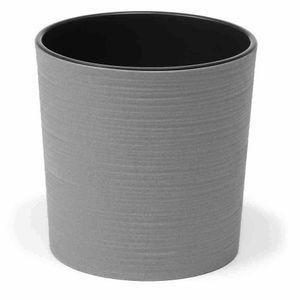 ECO Gefäß Lens grau 30cm