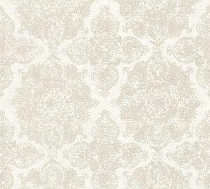 A.S. Création Vliestapete Boho Love Tapete metallic beige grau 10,05 m x 0,53 m 364632 36463-2