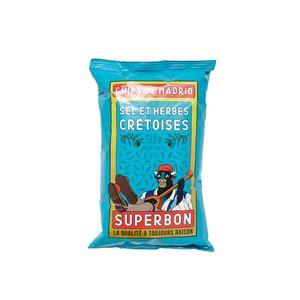 Superbon Chips Sel Et Herbes Cretoises und Sel Kartoffelchips 135g
