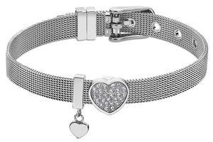 Lotus Style Damen Armband Bliss LS2077-2/1 Herz Strass silberfarbig Heart