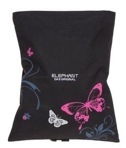 Turnbeutel Mädchen Elephant Hero Signature Sportbeutel Wäschebeutel mit Schultergurt am Rucksack fixierbar 12677 Butterfly Pink