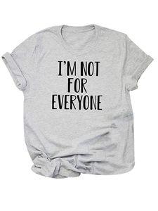 Frauen Top Kurzärmel T-Shirt Casual Shirt Pullover,Farbe: hellgrau,Größe:L