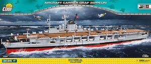 Cobi Aircraft Carrier Graf Zeppelin Bausatz aus Klemmsteinen #4826