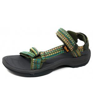 Teva Terra FI Lite Sandal Damen Sandale in Grün, Größe 39