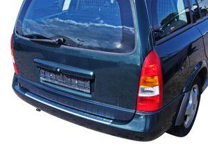 LADEKANTENSCHUTZ Edelstahl V2A Leiste Schutz für Opel Astra G Caravan 1998-2004