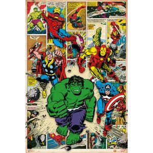 Avengers Comic Style Maxi Poster Marvel