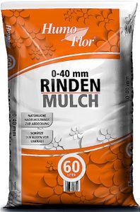 Rindenmulch 60l Gartenmulch 0-40 mm Qualitätsrindenmulch