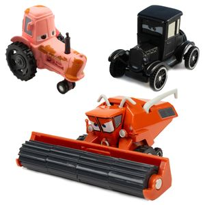 CUIFULI 3PCS Disney Pixar Cars  Metall 1:55 Diecast Spielzeug Kinder Geschenk lose Spielfahrzeuge, Mack Truck  mit Frank Harvester