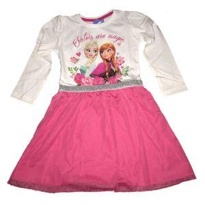 Disney Frozen Kleid - Ice Land, pink Größen 104-134 104