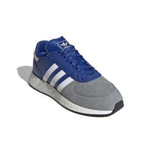 adidas Originals Turnschuhe Marathon Tech - Blau / Weiß / Grau, Größe:46