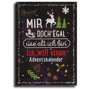 Erwachsenen Adventskalender mit Schokolade, Schoko Weihnachts Kalender