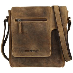 Greenburry Vintage 1650-25 Leder Messenger Schultertasche