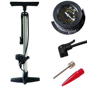 12 BAR Stahl Standpumpe Radsport Luftpumpe Fahrrad Standluftpumpe Handpumpe 180