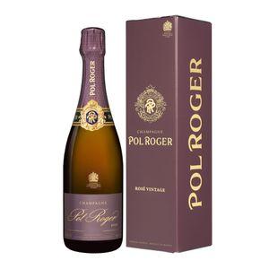 2008 Pol Roger Rosé Vintage brut Champagner Champagne Frankreich in Geschenkpackung | 12,5 % vol | 0,75 l