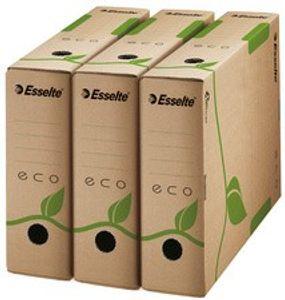Esselte Archiv-Schachtel ECO, DIN A4, braun, (B)100 mm